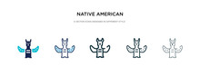 Native American Totem Icon In ...