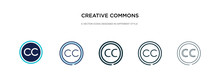 Creative Commons Icon In Diffe...