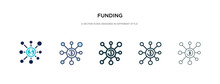 Funding Icon In Different Styl...