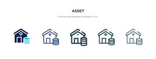 Asset Icon In Different Style ...