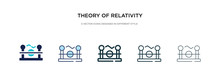 Theory Of Relativity Icon In D...