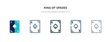 King Of Spades Icon In Differe...