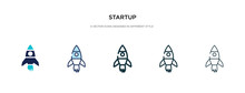 Startup Icon In Different Styl...