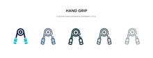 Hand Grip Icon In Different St...