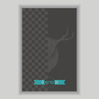 Hipster poster illustration. Retro vintage style - Vector