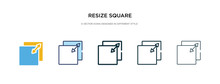 Resize Square Icon In Differen...
