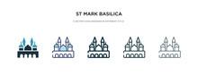 St Mark Basilica Icon In Diffe...