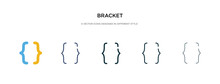 Bracket Icon In Different Styl...
