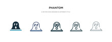 Phantom Icon In Different Styl...