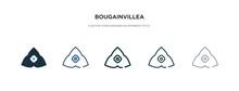 Bougainvillea Icon In Differen...