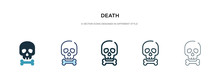 Death Icon In Different Style ...