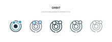 Orbit Icon In Different Style ...
