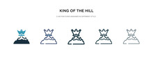King Of The Hill Icon In Diffe...