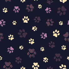 Seamless Pattern With Patterne...
