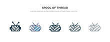 Spool Of Thread Icon In Differ...