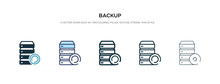 Backup Icon In Different Style...