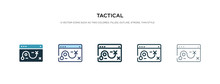 Tactical Icon In Different Sty...