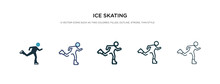 Ice Skating Icon In Different ...