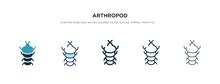 Arthropod Icon In Different St...