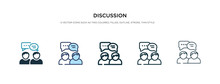 Discussion Icon In Different S...