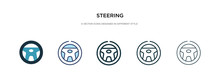 Steering Icon In Different Sty...