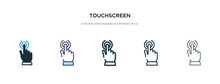Touchscreen Icon In Different ...
