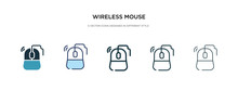 Wireless Mouse Icon In Differe...