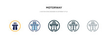 Motorway Icon In Different Sty...