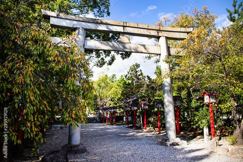 刈谷市の市原稲荷神社の鳥居
