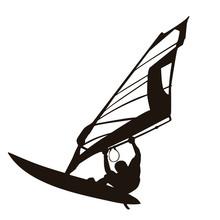 Windsurfing Silhouettes