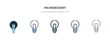 Incandescent Icon In Different...