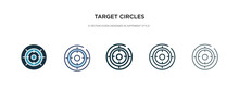 Target Circles Icon In Differe...