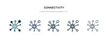 Connectivity Icon In Different...