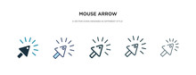 Mouse Arrow Icon In Different ...