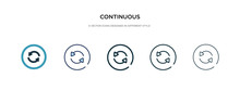 Continuous Icon In Different S...