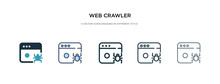 Web Crawler Icon In Different ...