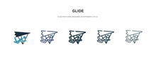 Glide Icon In Different Style ...