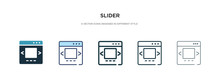 Slider Icon In Different Style...