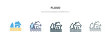 Flood Icon In Different Style ...