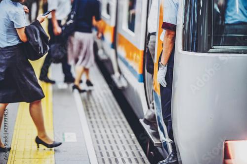 Fototapeta 駅の風景