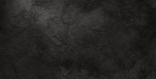 Black Crackled Background Texture And Grunge, Elegant Old Vintage Background Design With Soft Lighting In Black And White Shades Of Gray For Graphic Art Project Designs