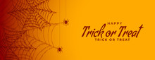 Trick Or Treat Halloween Spide...