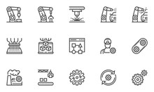 Automation Vector Line Icons S...