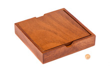 Wooden Box And Ball For Playin...