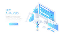 Seo Analysis Design Concept. I...