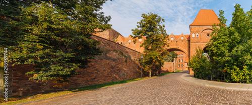Obraz na płótnie Torun, Medieval Teutonic castle