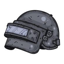 Pubg Helmet Level 3. Vector Il...