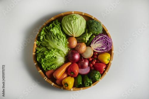 Fototapeta 沢山の美味しい野菜 obraz