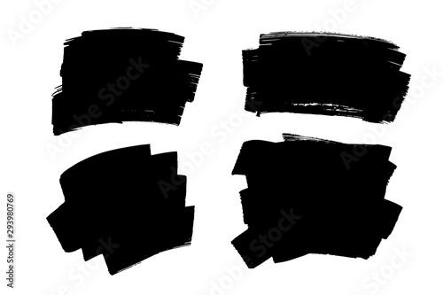 Fotografía  Grunge brush strokes, lines