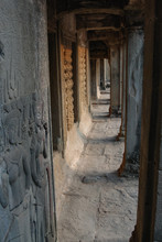 Apsara Dancers On The Walls Of...